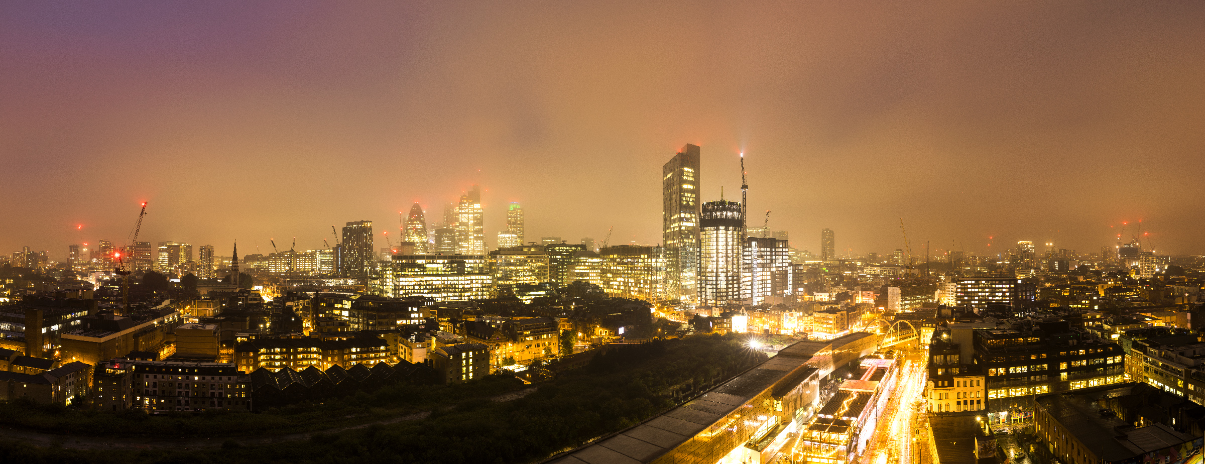 Shoreditch Skyline